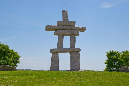 Inuit, Inukshuk, Canada, Stone, Rock, Symbol, Native