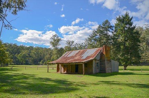Hut, Cattlemen's Hut, High Country, Fry's Hut, Bush