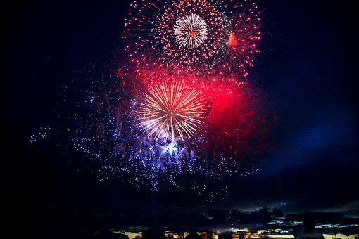 Fireworks, Fireworks Display, Chofu, Colorful, Hanabi