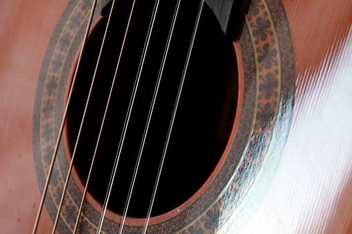 Guitar, Guitar Strings, Music, Musicians, Instrument