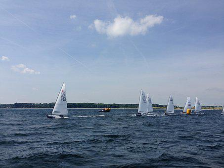 Sail, Dinghy, Ok-dinghy, Regatta, Kiel Week, Kiel