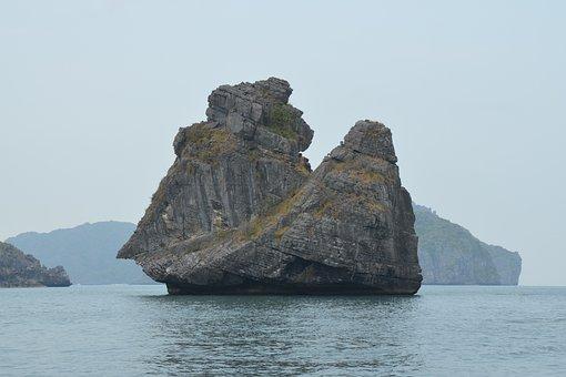 Angthong Marine Park, Koh Samui, Thailand, Landscape