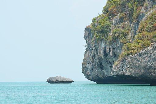 Angthong Marine Park, Koh Samui, Thailand, Coast