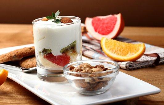 Breakfast, Morning, Oil, Food, Oatmeal, Walnuts, Sesame