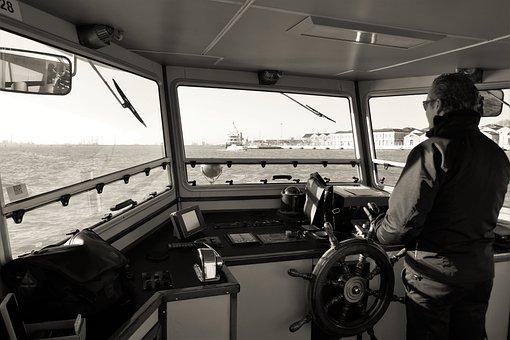 Captain, Ferry, Passenger Ship, Boat Cruise, More, Ship