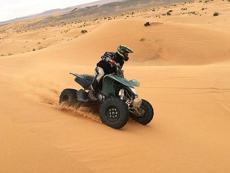 Quad, Desert, 4x4, Travel, Sahel, Sahara, Adventure