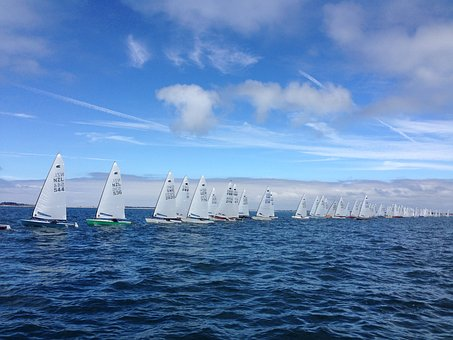 Sail, Dinghy, Ok-dinghy, Regatta, World Championship