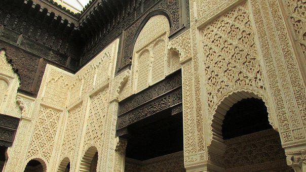 Arabesque, Morocco, Medersa, Salted, Ornaments