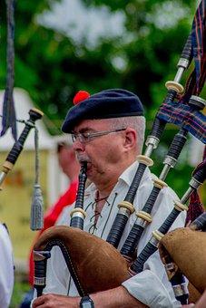Scotland, Pipe, Clan, Musicians, Artist, Edinburgh
