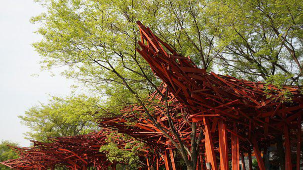 Sculpture Park, Sculpture, Jing'an Sculpture Park