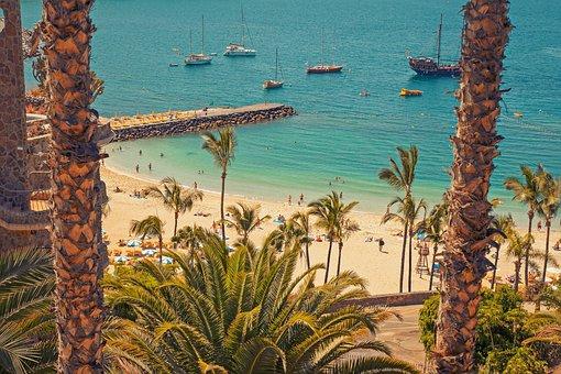 Gran Canaria, Canary Islands, Summer, Holiday, Beach