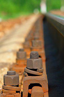 Railway, Rails, The Way, Sleepers, Railroad Tracks