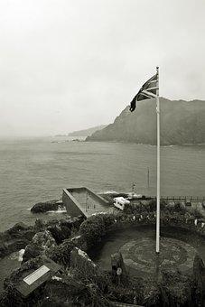 Nostalgia, Vintage, Union Jack, Bad Weather Photography