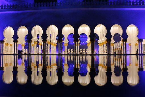 Sheikh Zayed Mosque, Masjid, Abu Dhabi, Religious