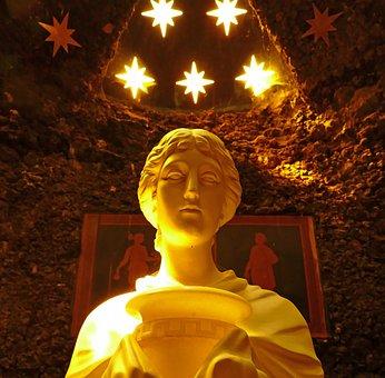 Goddess, Place Of Worship, Vestal, Park Wörlitz, Faith