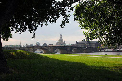 Dresden, Germany, City, Frauenkirche