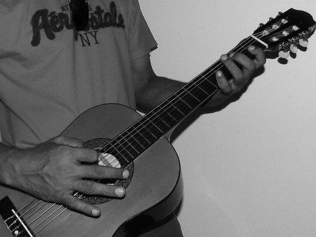 Guitar, Music, Play Guitar, Musical, Instrument, Sound