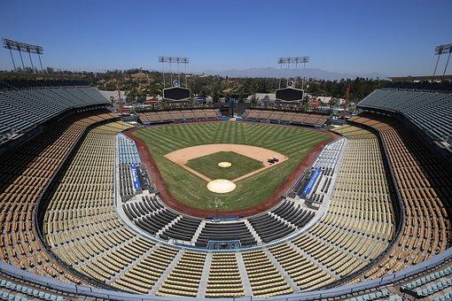 Dodgers, La, Baseball Field, Stadium