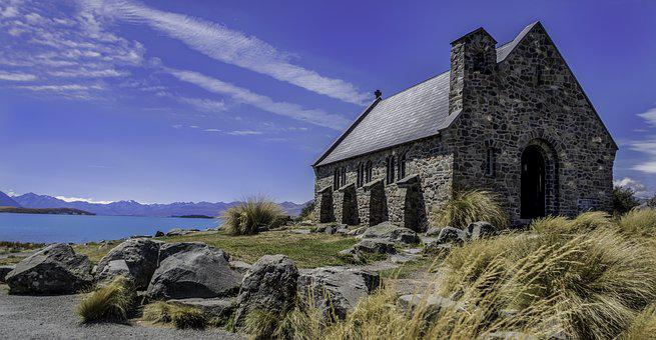 Church, Good Shepherd, Lake Tekapo, South Island