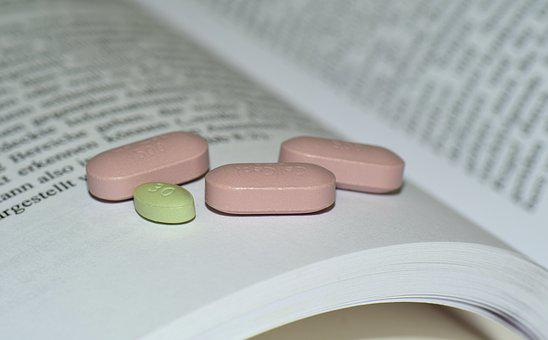 Drug, Book, Tablets, Book And Tablets, Medical, Learn