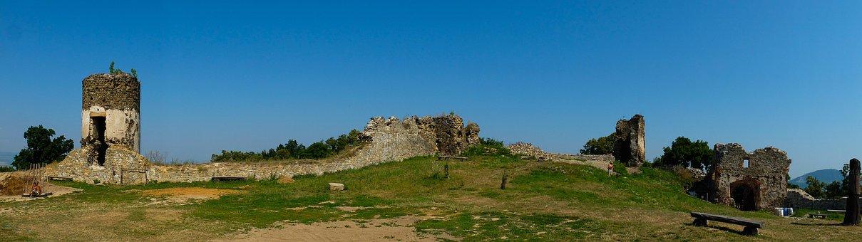 šarišský Hrad, Slovakia, Ruins, Castle, Middle Ages