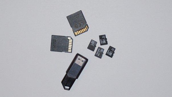 Sd, Micro Sd, Sd Card, Memory Card, Pny, Usb Stick