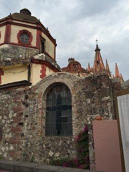 San Miguel De Allende, Church, Cathedral, Mexico