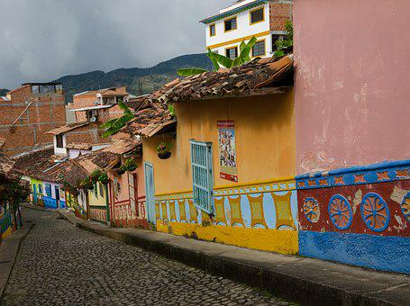 Colombia, Guatape, Tourism, Places Of Interest, Sunny