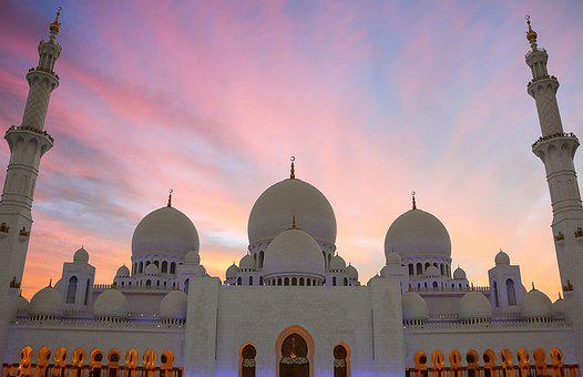 Sheikh Zayed Mosque, Grand Mosque, Masjid, Uae, Arab