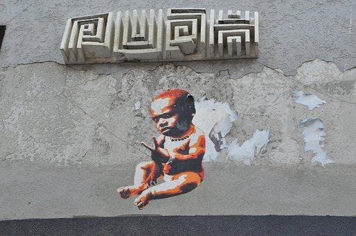 Street Art, Graffiti, Wall, Spray, Colorful, Urban Art