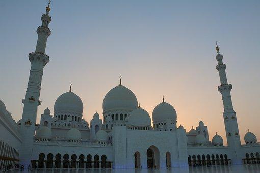 Sheikh, Zayed, Mosque, Grand, Masjid, Uae, Abu Dhabi
