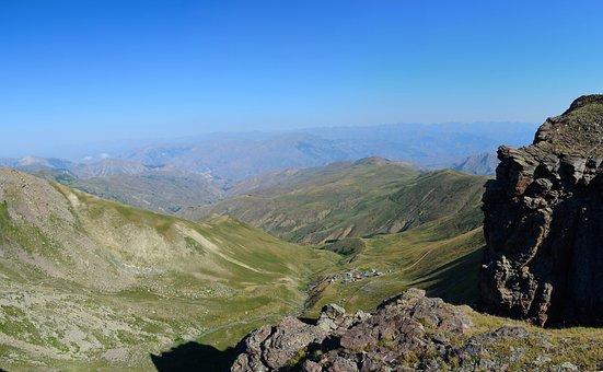 Kaçkars, Nature, Landscape, Mountains, Blue