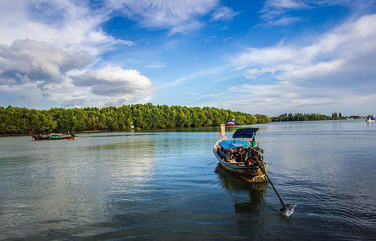 Andaman, Asia, Beach, Boat, Island, Krabi, Languid