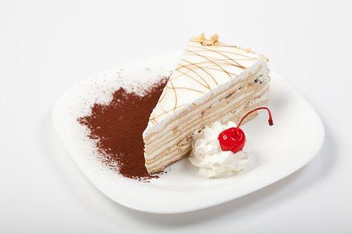 Cake, Sour Cream, Cake Smetannikov, Sweet, Dessert