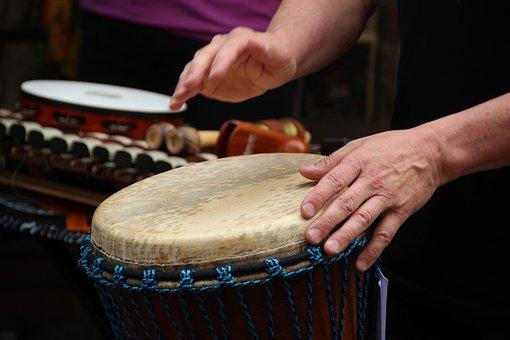 Djembe, Drums, Music, Rhythm, Drummer, Instrument