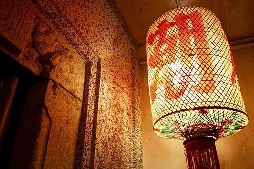 China, Chaozhou, Lantern, Teahouse