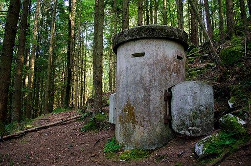Obersalzberg, Bavaria, Berchtesgaden, Bunker