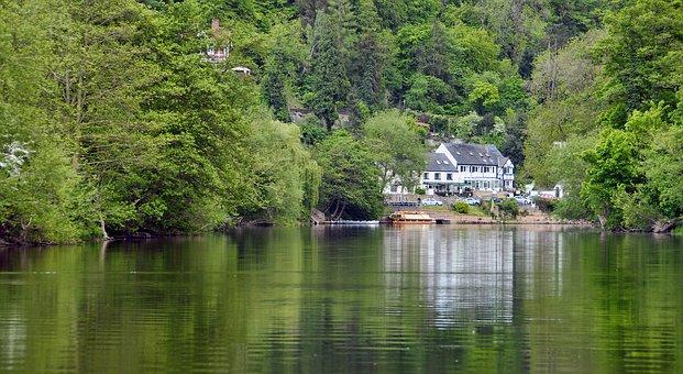 Symonds Yat, River Wye, Herefordshire, Uk, Scenic