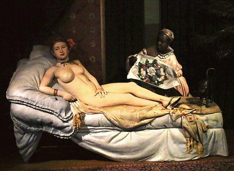 Sculpture, Woman, 3d, Statue, Female, Women, Museum