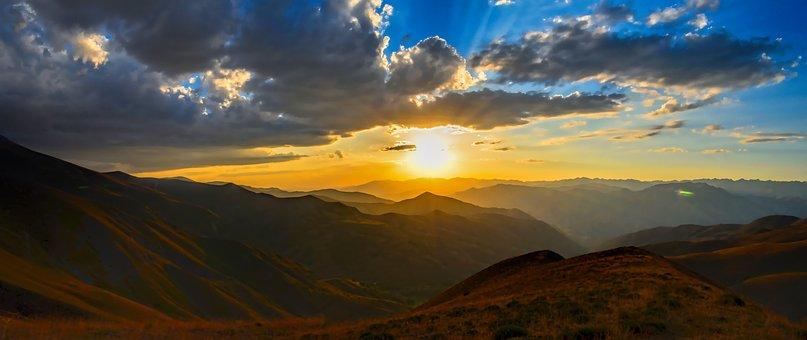 Horizon, Solar, Sunset, Horizon Line, Sky, Turkey