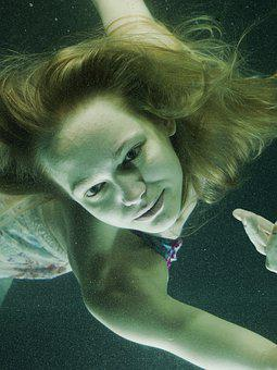 Underwater, Fiction, Under Water, People, Art, Fashion
