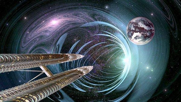 Universe, Space, Cosmos, Composing, Fantasy, Planet