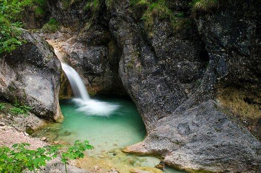 Clammy, Water, Gorge, Nature, Waterfall, Running Water