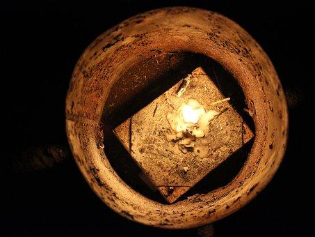 Candle, Night, Camping, Light, Lambency, Honoka, Dim