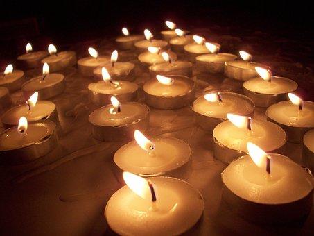 Candles, Flame, Wax, Tea Lights, Fire, Candlelight