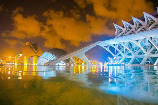 Valencia, City Of Arts And Sciences, Color