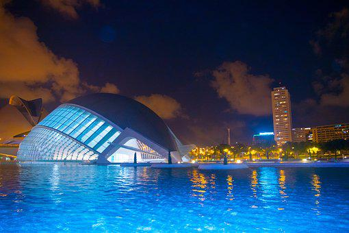 Valencia, City Of Arts And Sciences, Color