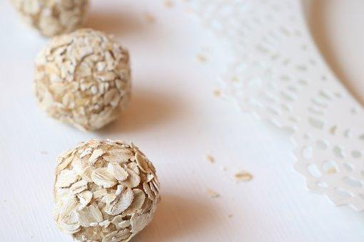 Oats, Balls, Energy, Food, Nutrition, Dieting, Fresh