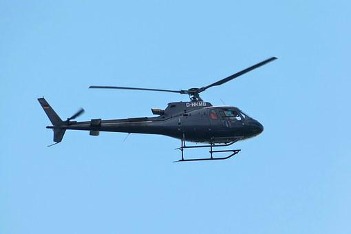 Helicopter, Eurocopter As-350b 3 Ecureuil, Flying