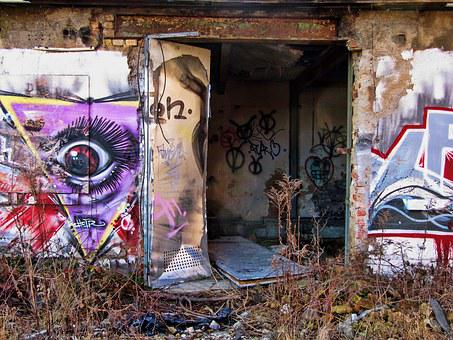 Factory, Building, Old, Lapsed, Hauswand, Ruin